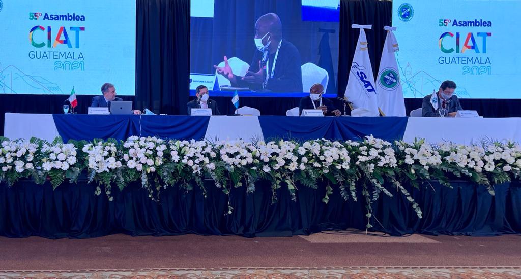 Le Secrétaire exécutif du FAFOA prend la parole à la 55ème Assemblée générale du CIAT