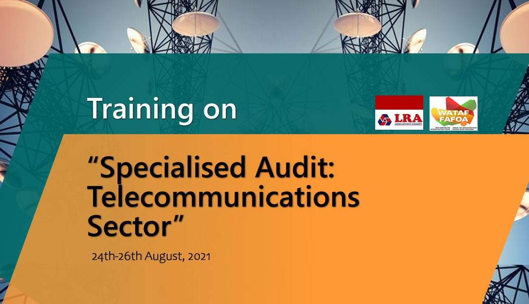 """Training on """"Specialised Audit: Telecommunications Sector"""""""